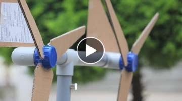 How to make a Generator at home - Generator Windmill