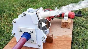 How to Make a Drill Powered WATER PUMP at Home
