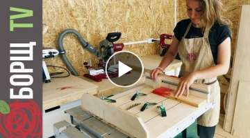 Easy Cross Cut Sled for table saw DIY