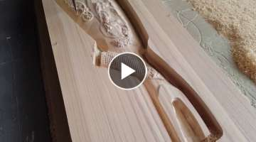 Amazing CNC machine, Making Rifle Stock