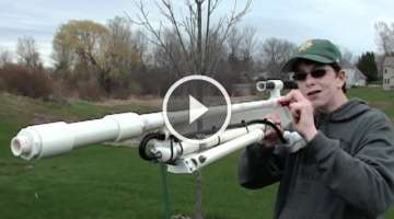 Homemade Air powered Sniper Rifle