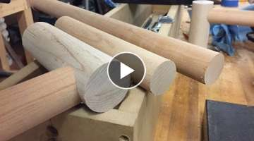 Making Large Dowels with a Router