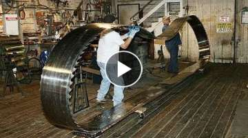 Most Satisfying Video Automatic Bandsaw Blade Sharpener Machines Working