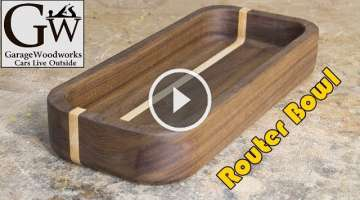 Make a Bowl with a Router