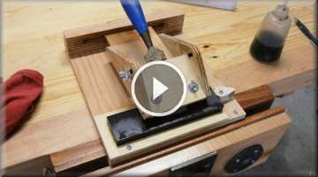Building The Sharpening Jig