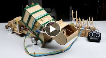 How to Make RC GARBAGE TRUCK - Amazing Truck