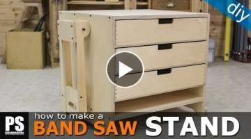 How to make a Band Saw Stand