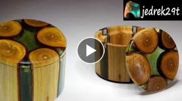 How to make a BOX of Resin and Wood