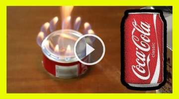 Coke Can The Perfect Alcohol Stove cocacola ♻