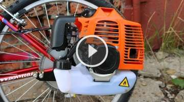 How to Build a Motorized Bicycle
