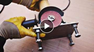 Wow 2in 1 angle grinder stand hack