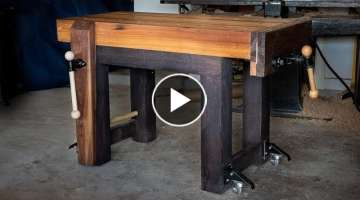 How To Build a Woodworking Workbench
