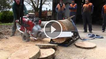 Australian V8 Chainsaw made by Whitlands Engineer