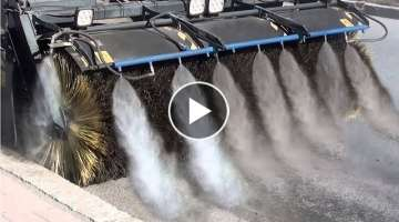 Modern Technology Street Sweeper Machine, Road Clean Equipment
