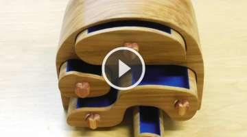 Make a Band Saw Jewelry Box: Woodworking project
