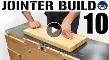 I'm Building A Jointer! - The FIRST Cut!