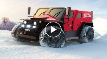 10 BEST ALL-TERRAIN VEHICLES IN THE WORLD