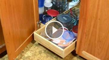 Kitchen cabinet organizer boxes