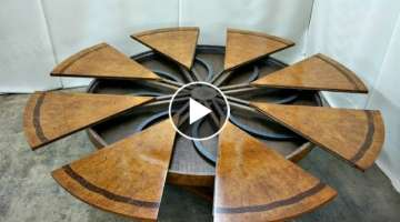 Amazing Expanding Round Tables Compilation