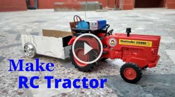 How to make a Tractor - RC TRACTOR