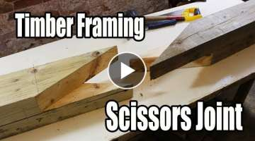 Timber Framing Scissors Joint