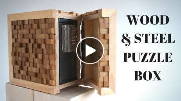 Electronic Puzzle Box SAFE! // collaboration with Eli's workshop