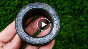 Bearing Forged Into Fine Woodworking Tool (Inner Race)
