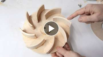 Blower impeller design experiments