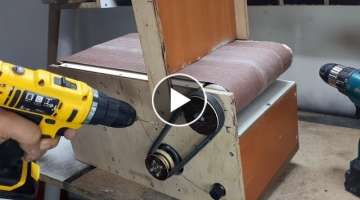 20x41cm Belt Sander Build