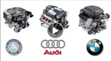 Mercedes Benz Audi BMW Engine Technology