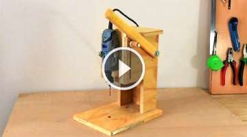 Making a Mini Drill Press - Router Table -Spindle Sander (All in One)