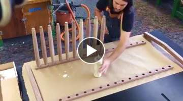20 GENIUS WOOD Furniture Making. Intelligent WoodWorking Projects