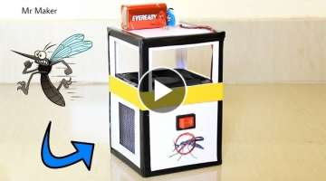 DIY Mosquito Killer Machine - How to make