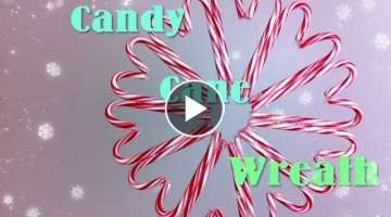 Candy Cane Wreath DIY Day 10: 12 DIYs of Christmas - keepingupwithashlyn