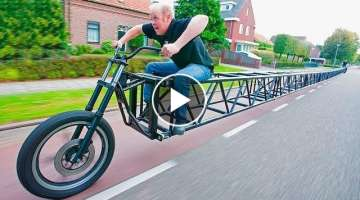 10 STRANGEST BIKES IN THE WORLD
