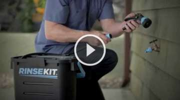 RinseKit : Pressurized Portable Shower