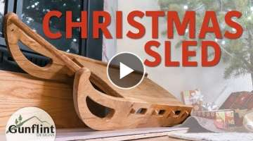 Making A Sled For Christmas | Woodworking
