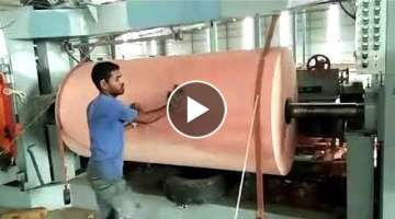 Extreme Fast Wood Lathe Machine in Action, Latest CNC Technology Woodworking Machines