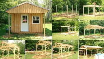 How to Build a 12x20 Wood Cabin on a Budget
