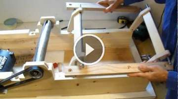 Homemade jointer build
