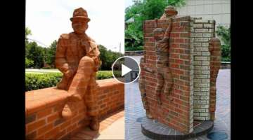 Coolest Brick Sculptures