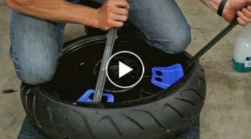 How To Change & Balance Your Own Motorcycle Tires