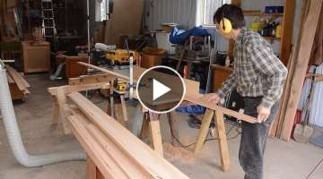 Making lots of baseboard molding