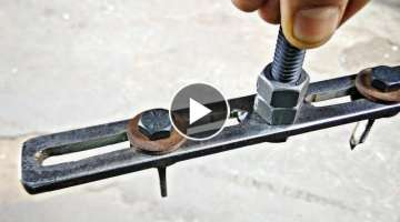 Make a Amazing Useful DIY Tool || Make Hole Saw Cutter