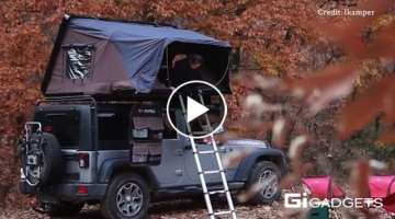 ikamper | Pop-out tent on your car roof