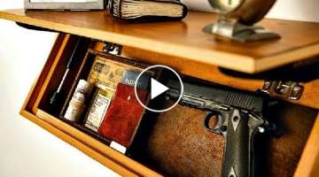 Amazing SECRET DRAWER Compartments FURNITURE Compilation