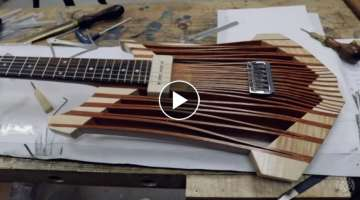 Insane Guitar Build in 1 Video! BoB1
