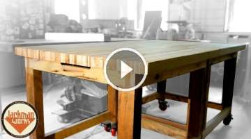 Pallet Wood Workbench