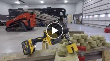 Insane Power from the Flex Volt Stud/Joist Drill
