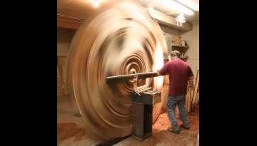 Huge Wood Turnings by David Barkby